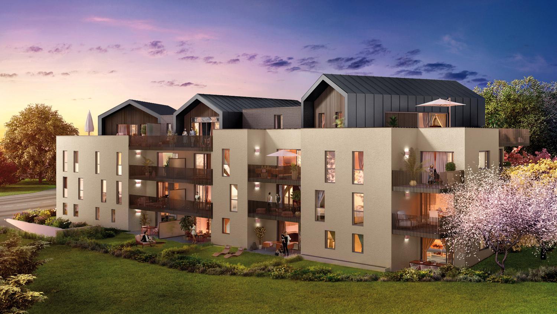 Annonce vente appartement cornier 74800 69 m 250 500 for Vente de appartement